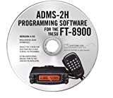 Software : Yaesu ADMS-2H Programming Software on CD with USB Computer Interface Cable for FT-8900R by RT Systems