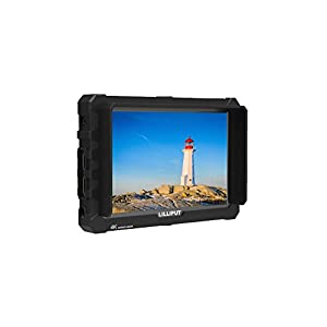 """LILLIPUT A7S 7""""1920x1200 IPS Screen Camera Field Monitor 4K HDMI Input output Video For DSLR Mirrorless Camera SONY A7S II A6500 Panasonic GH5 Canon 5D Mark IV DJI Ronin M BLACK case exclusively"""