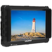 LILLIPUT A7S 71920x1200 IPS Screen Camera Field Monitor 4K HDMI Input output Video For DSLR Mirrorless Camera SONY A7S II A6500 Panasonic GH5 Canon 5D Mark IV DJI Ronin M BLACK case exclusively