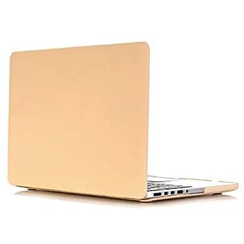 Funda MacBook Pro 15 - AQYLQ Carcasa Macbook Pro 15 Retina [Candy Color] Funda rígida para MacBook Pro Retina 15 pulgadas (A1398) - Navajo White