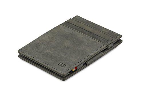 (Garzini Thin Minimalist Genuine Leather Magic Wallet RFID Blocking for Men)