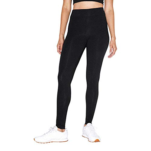 American Apparel Women's Cotton Spandex Jersey High-Waist Leggings