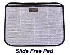 Slide Free Wheelchair Pad - Pants Fiberglass Wheel