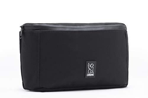 Chrome Industries The Cardiel Shank Crossbody Sling Bag - Hip Pack With U-lock Holster - Black ()