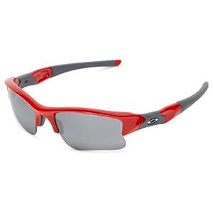 Oakley Flak Jacket XLJ 03-902 Iridium Sport Sunglasses,Infrared,55 mm