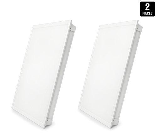 LED Troffer 2x2 FT Hyperikon, 35W (72W Equivalent), 4000K, 3770 Lumens, 24 x 24