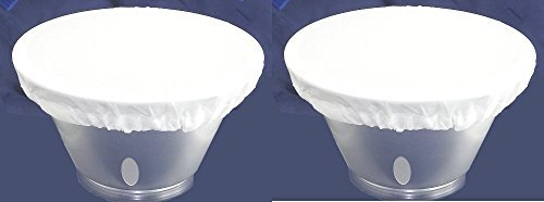 """7"""" / 18cm to 8.25"""" 21cm Soft White Diffuser Sock for Flash R"""