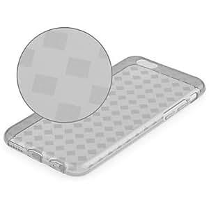 MOFY-Dise–o del grano del color de la caja de cuero de la PU con ranura para tarjetas y soporte para el iPhone 6 m‡s