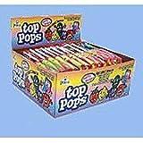 Top Pops Taffy Lollipops Assorted Flavors 48 ct For Sale