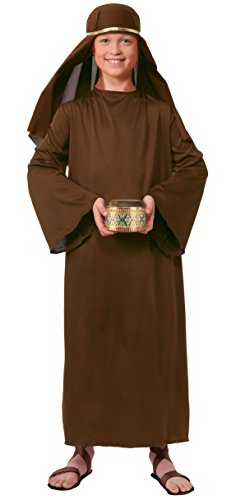 (Forum Child's Value Wise Man Costume, Brown,)