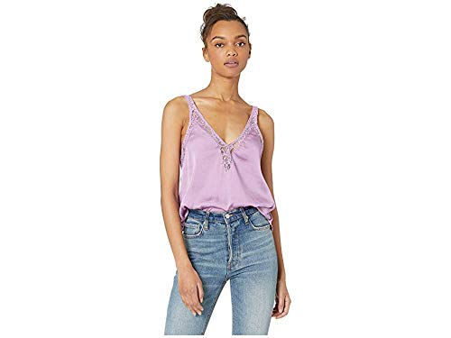 Free People Women's All in My Head Cami Pink Small