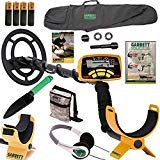 Garrett Ace 250 Metal Detector with Headphones, DVD, Digging Trowel, Finds Pouch and Carry