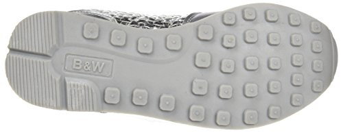 Break&Walk Hv215434, Zapatillas para Mujer Plateado (Silver)