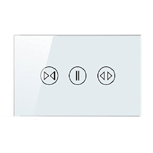 M-Egal Home Smart WiFi Glass Panel Touch Sensor Curtain Wall Switch Shutter on-off Via - Detector Curtain