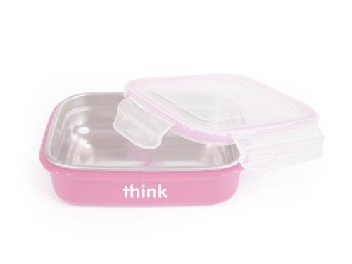 thinkbaby BPA Free Bento Box, Pink