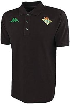 Kappa Real Betis Balompie 2019-2020, Polo, Negro: Amazon.es: Ropa ...