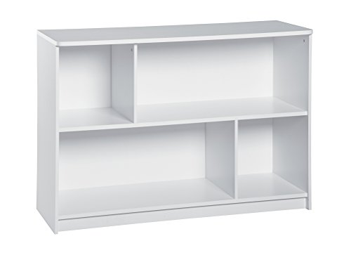 ClosetMaid 1498 KidSpace 2-Tier Horizontal Storage Shelf, White (Closet Maid Black Drawer)