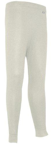 Polarmax Unisex Child Double Base Layer Pant (Ivory, Small) -