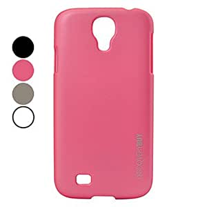 JAJAY-ships in 48 hours Elegant Fashion Hard Protective Case for Samsung Galaxy S4 I9500 (Assorted Colors) , Pink