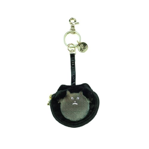 Chloe Black Coin Purse Keychain