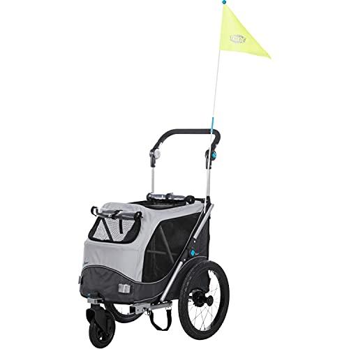 Trixie - Remolque para Bicicleta (función de Plegado rápido)