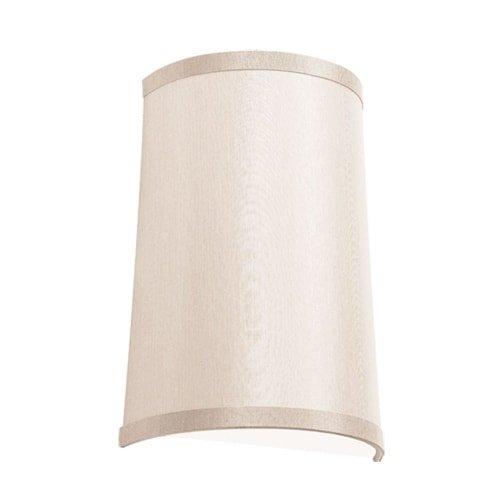 Italian Contemporary Sconce - Dainolite Lighting 947812W-720 1-Light Wall Sconce Italian Linen