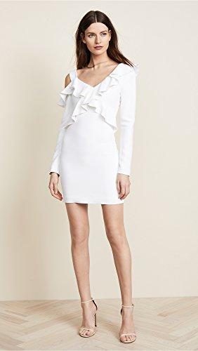 Shoulder Women's Cold Ochs White Mini et Bella Dress Cushnie qXw1BFHn