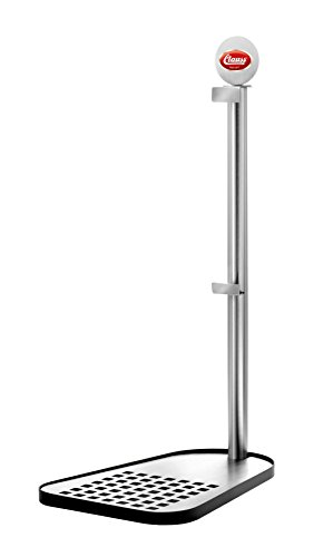 - Clauss Party Keg Stand, Stainless Steel, Silver