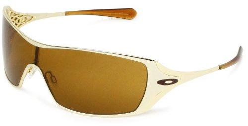 oakley gold frame sunglasses  Amazon.com: Oakley Oakley Dart 05-672 Shield Sunglasses,Polished ...