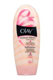 OLAY Moisture Ribbons Plus Body Wash, Shea + Rosemary Mint 18 oz