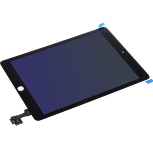 Complete LCD Display Digitizer Touch Screen Assembly Compatible for iPad Air 2 2nd Gen A1566 A1567 (Black)