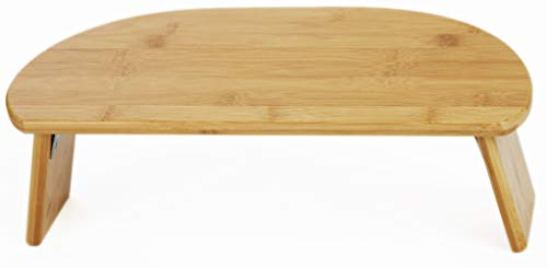 Green Eos Bamboo Ergonomic Folding Meditation Bench – Seiza Bench – Ideal for Vipassana, Transcendental and Zen Meditation