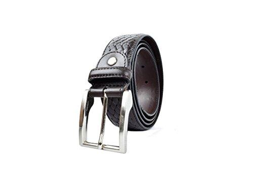 Zerimar Cintura registrato per uomo in pelle di alta qualità Altezza 3.5 cms