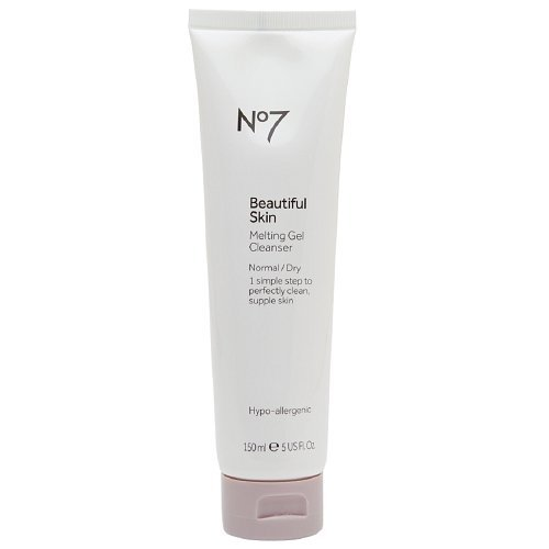Boots No7 Beautiful Skin Melting Gel Cleanser, Normal / Dry 5 fl oz (150 ml)