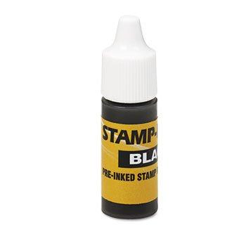U.S. Stamp & Sign® Refill Ink REFILL,INK BOTTLE,BLACK L18650-8ZTXU (Pack of20)