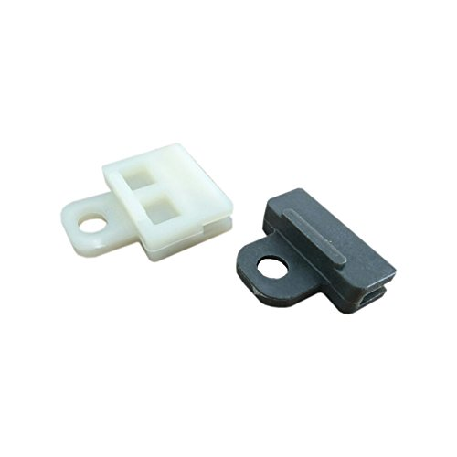 Bross BWR5019+BWR5023 2 Types Power and Manual Window Regulator Glass Channel Slider Sash Connector Clips for Toyota ()