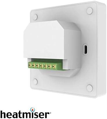 Gletscherwei/ß Thermostat f/ür elektrische Fu/ßbodenheizung Heatmiser neoStat-e V2