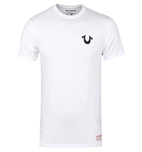True Religion White Logo T-Shirt