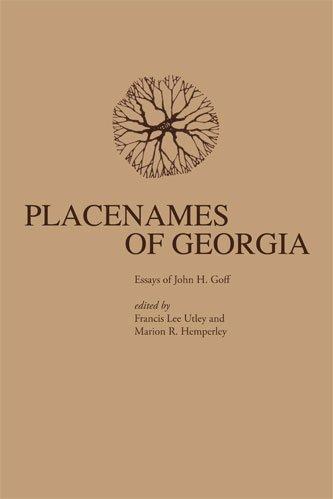 Placenames of Georgia