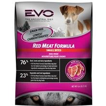 Bites Red Meat Formula (Evo Grain Free Red Meat Formula Small Bites Dry Dog Food 13.2 Pounds, 1)