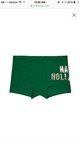Shorty Boyshorts Panty (Victoria's Secret Pink Logo Underwear Panty Boyshort Shorties (Medium))