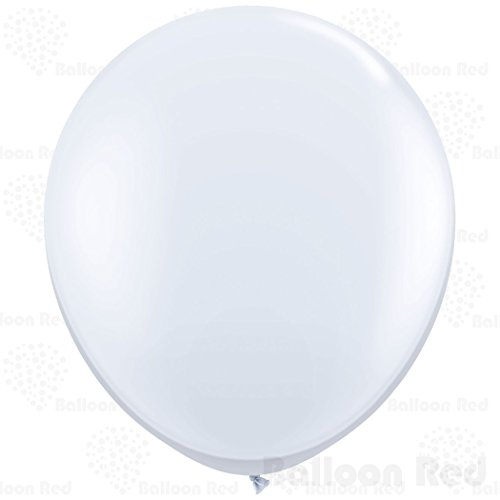 [36 Inch Giant Jumbo Latex Balloons (Premium Helium Quality), Pack of 3, White] (Homemade Kids Halloween Costumes 2016)