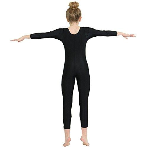 06b9d8048d54 Alvivi Kid s Boys Girls Long Sleeve Unitard Jumpsuit Full Length ...