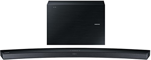 Samsung HW-J6000 Curved 6.1 Soundbar (300W, kabelloser Subwoofer, Bluetooth) schwarz