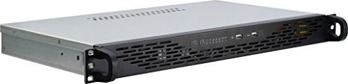 Inter-Tech 88887085 1U K-125L IPC Server-Gehäuse (ITX 25 cm)