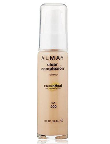 Wholesale Almay Clear Complexion Makeup, 1 Fl Oz + FREE Old Spice Deadlock Spiking Glue, Travel Size, .84 Oz