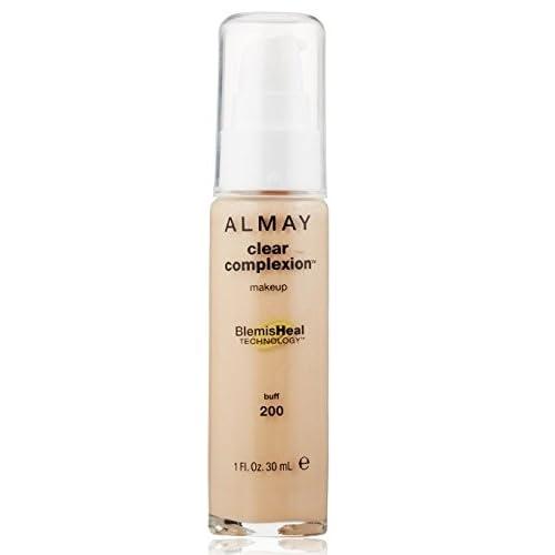 Almay Clear Complexion Makeup, 1 Fl Oz + FREE LA Cross Blemish Remover 74851
