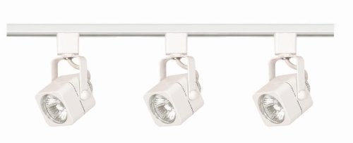 Nuvo Lighting TK345 Three Light Track Kit, White
