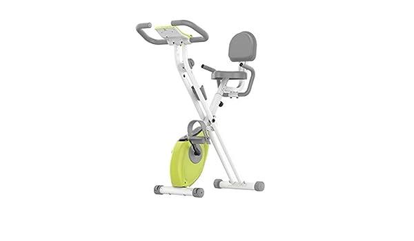 HLeoz Bicicleta Estática Plegable, Bicicleta Spinning Exercise ...
