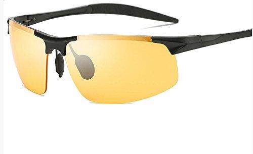 de B Hombres Conducir Noche Nocturna en Gafas Visión la Chennnnnn B Gafas para para SAO5nwOBqx